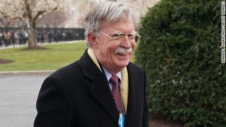 Syria attack response looms over Bolton's first week as national security adviser