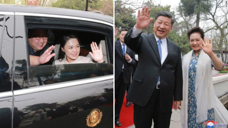 north koreas kim jong un met xi jinping on surprise visit