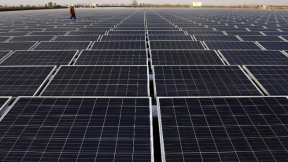 China is investing heavily in renewable energy.