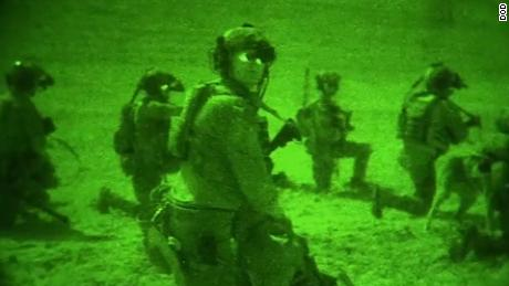 Dramatic night-vision video captures US raid to kill ISIS fighters