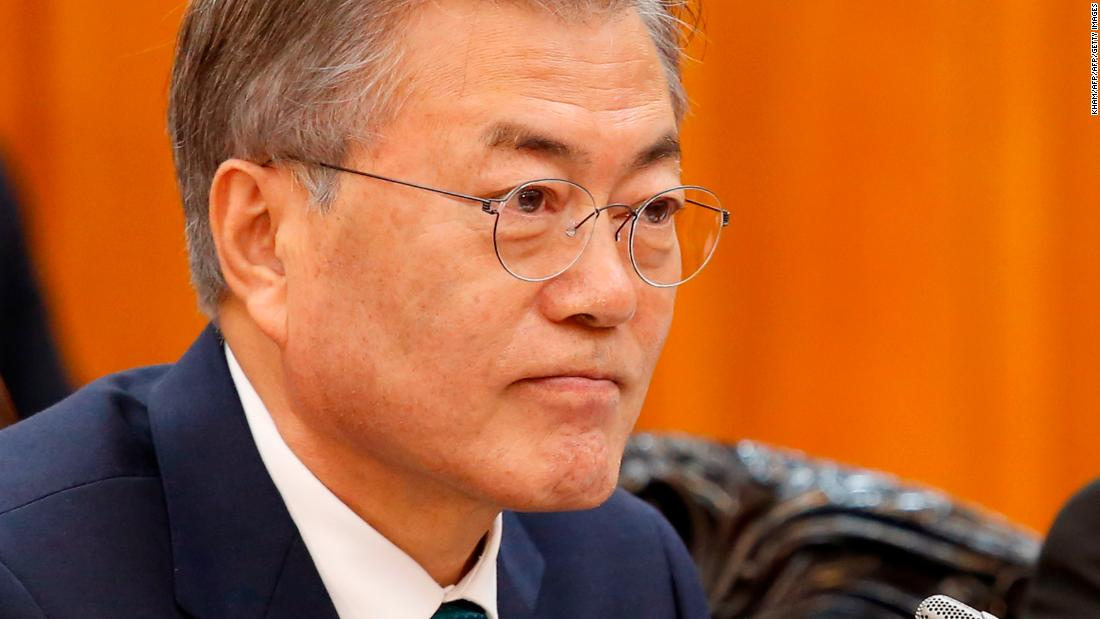 President Moon faces big test