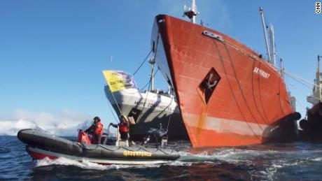 CNN follows dramatic mission to save Antarctica