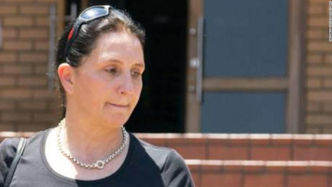 South African woman recorded racially abusing police officer jailed for 3 years