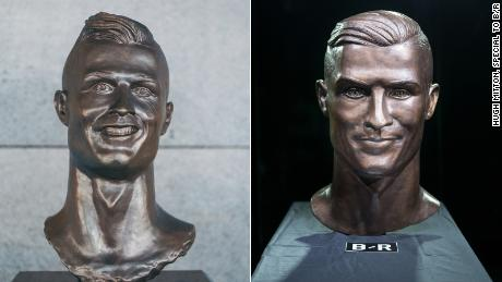 Infamous Ronaldo bust artist gets a do-over