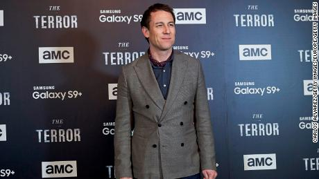 MADRID, SPAIN - MARCH 20:  Actor  Tobias Menzies attends 'The Terror' premiere at the Philips Gran Via Theater on March 20, 2018 in Madrid, Spain.  (Photo by Carlos Alvarez/Getty Images)