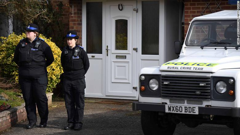 Police believe Sergei and Yulia Skripal came into contact with the nerve agent at the former spy's home in Salisbury.