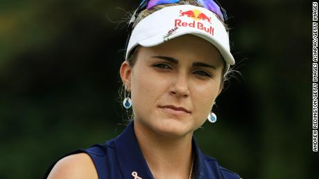 SINGAPORE - MARCH 01:  Lexi Thompson of the United States walks on the second hole during round one of the HSBC Women's World Championship at Sentosa Golf Club on March 1, 2018 in Singapore.  (Photo by Andrew Redington/Getty Images)