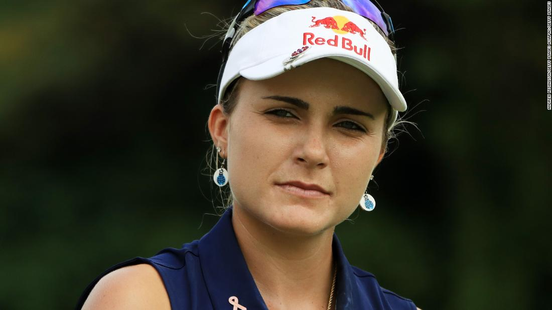 Lexi Thompson sorry for blunder that cost 40 players a day's practice