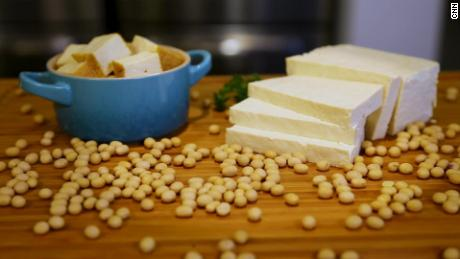 Many are turning to soy in place of meat in their diets.