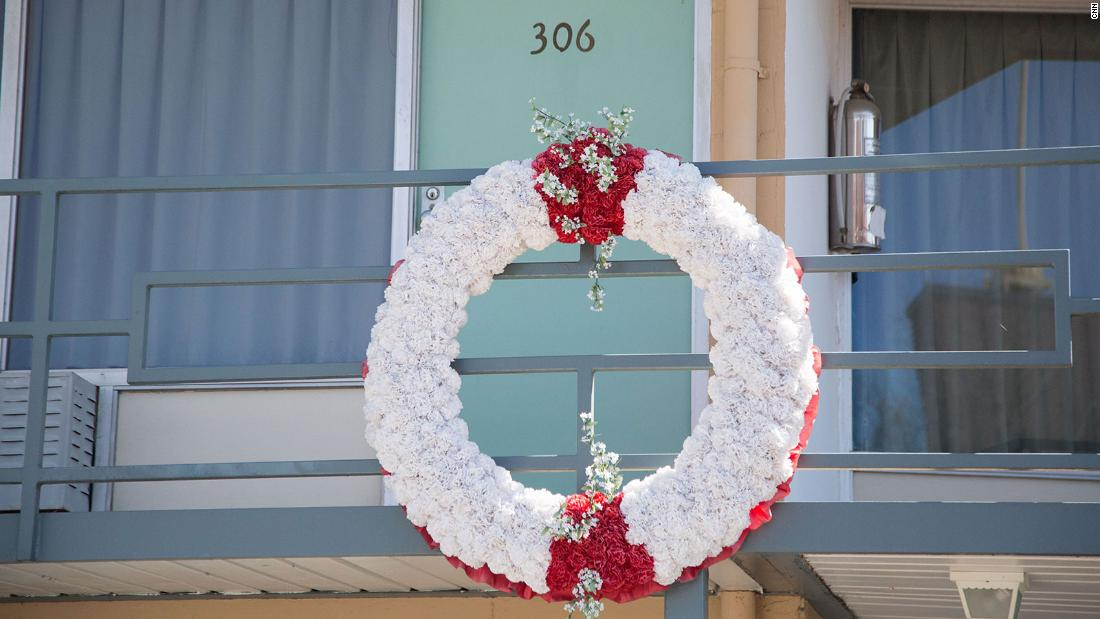 Room 306 at Lorraine Motel is where Martin Luther King Jr. stayed the night before he was assassinated. A white wreath on the balcony marks the place where he was shot on April 4, 1968.