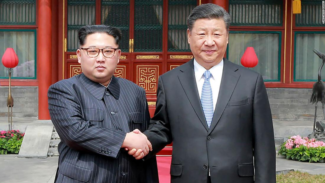 "This photo, released by North Korea's state-run news agency, shows North Korean leader Kim Jong Un, left, shaking hands with Chinese President Xi Jinping on Tuesday, March 27. <a href=""https://www.cnn.com/2018/03/27/asia/north-korea-kim-jong-un-china-visit/index.html"" target=""_blank"">Kim made a surprise trip to the Chinese capital</a> at Beijing's request, according to Chinese state media. It was his first foreign trip since assuming power in 2011."