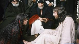 """Even in the well-regarded film, """"Jesus of Nazareth,"""" Mary Magdalene is portrayed as a fallen woman seeking Jesus' forgiveness. It's a lie that won't die."""