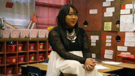 Inspired by one of her teachers, Shontée Branton now teaches in Del City, where she said she's most needed.
