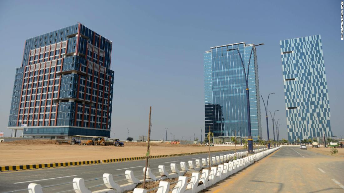 India is building a city from scratch