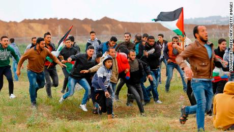 The date of the Gaza protest is not coincidence
