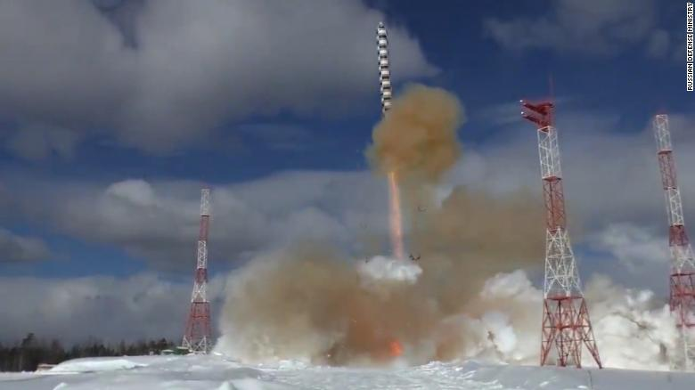 Russia tests new ballistic missile