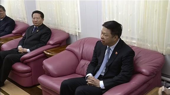 Chinese envoy Song Tao led the delegation that met Kim at Dandong.