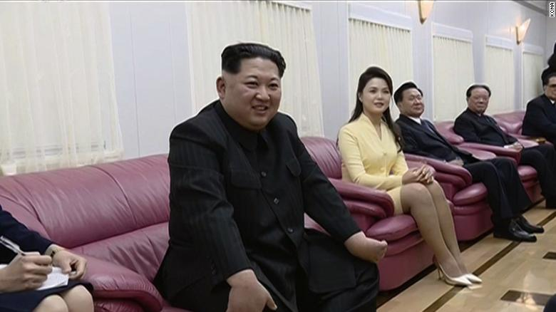 Inside Kim Jong Un's train to China