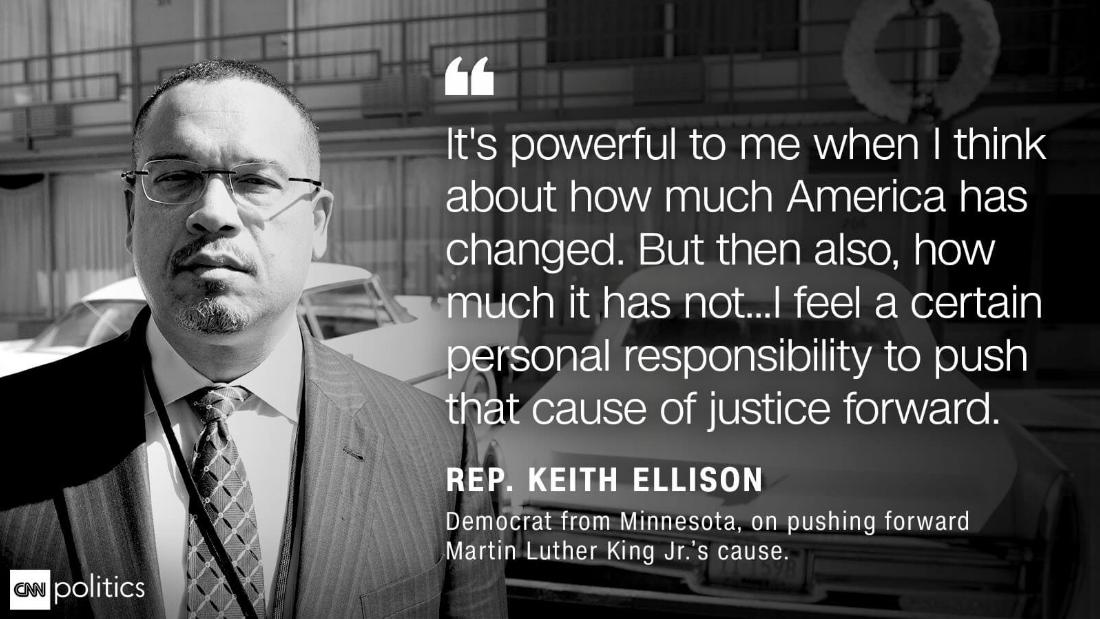 Ellison quote MLK anniversary