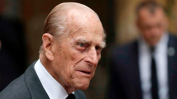 LONDON, UNITED KINGDOM - JUNE 27:  Prince Philip, Duke of Edinburgh leaves the funeral service of Patricia Knatchbull, Countess Mountbatten of Burma at St Paul's Church in Knightsbridge on June 27, 2017 in London, England. (Photo Matt Dunham  - WPA Pool / Getty Images)
