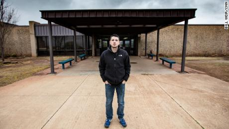 "Alberto Morejon, 25, is an 8th grade social studies teacher at Stillwater Junior High who started a popular Facebook group, ""Oklahoma Teacher Walkout - The Time is Now!"""
