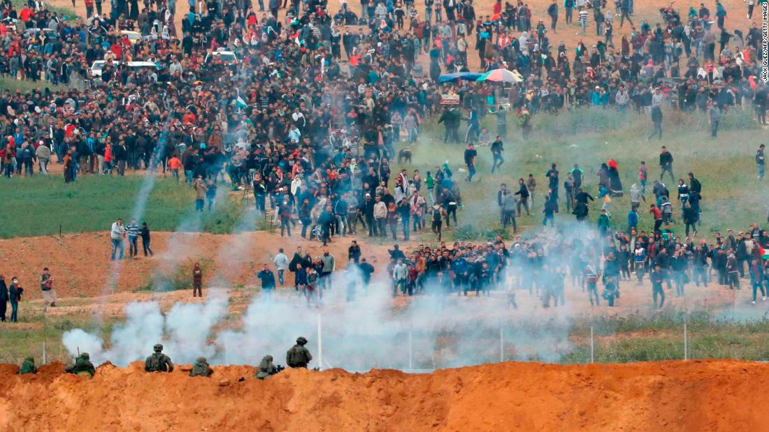 Image result for Images of Gaza and the demonstrations