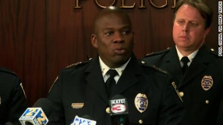 "Baton Rouge police Chief Murphy Paul says, ""Our police officers are held to a higher standard."""