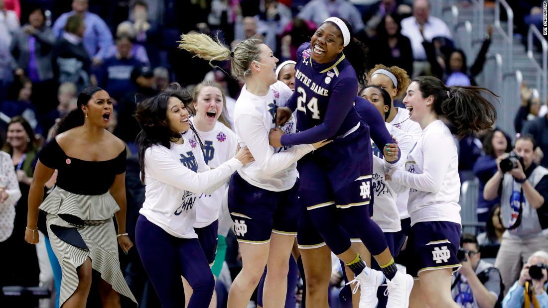 Image result for Notre Dame VS Mississippi State Women basketball live