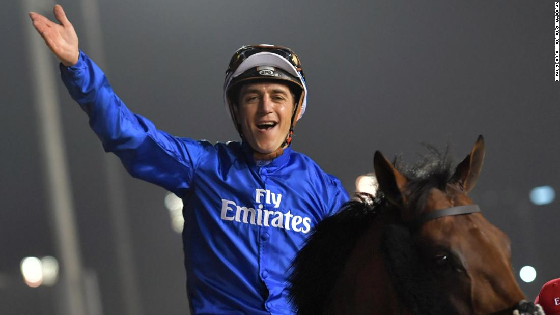 It was Belgian jockey Christophe Soumillon's first win in the race, which was formerly the richest in the world.