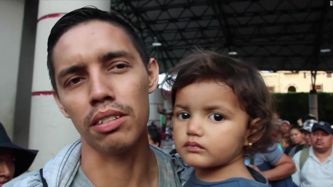 This US-bound migrant caravan sparked a Trump tweetstorm