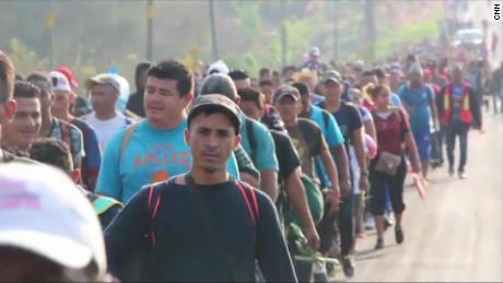 This US-bound migrant caravan sparked a Trump tweetstorm