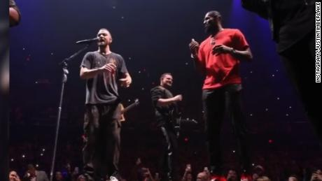See LeBron James surprise Justin Timberlake