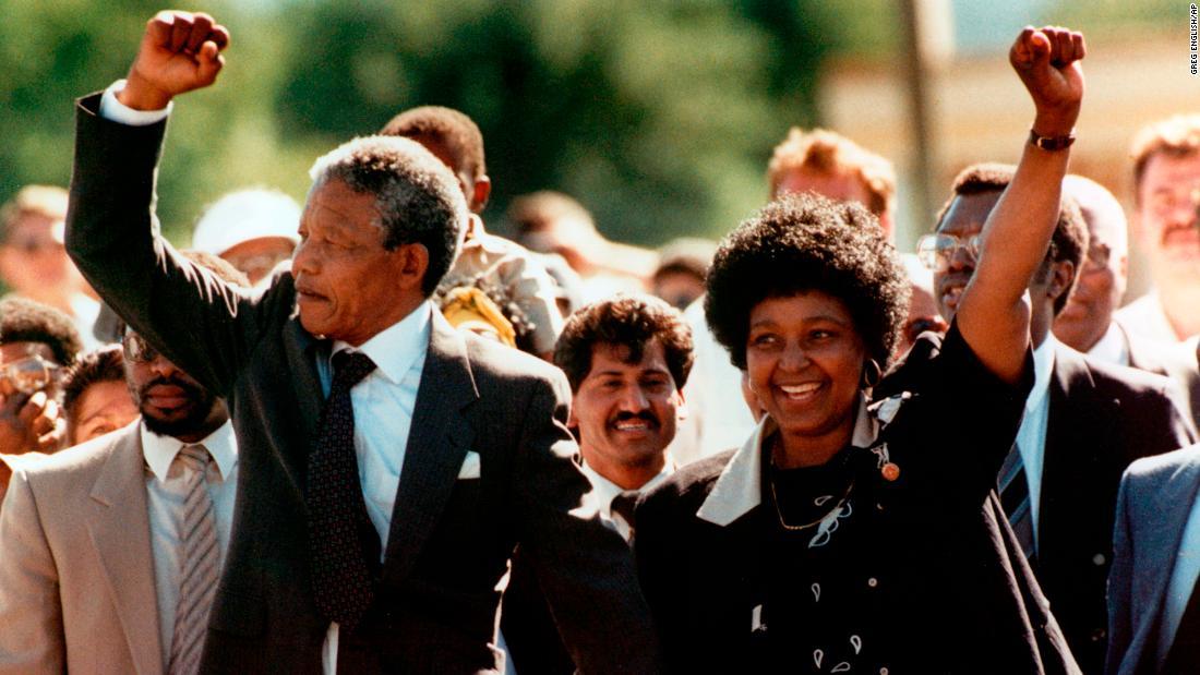 Winnie Mandela, South African anti-apartheid crusader, dies at 81 – Trending Stuff