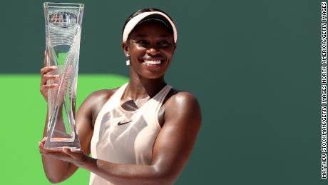 Sloane Stephens won the women's draw on Saturday to ensure a US clean sweep.