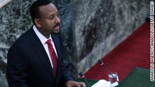 Ethiopia's parliament swears in new prime minister