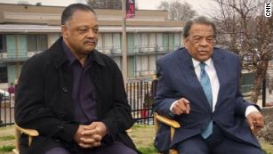 Civil rights icons visit site of MLK's death