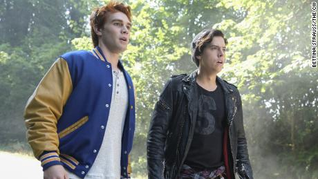 "A scene from CW's ""Riverdale."""