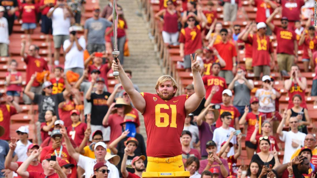 Usc football players and asian
