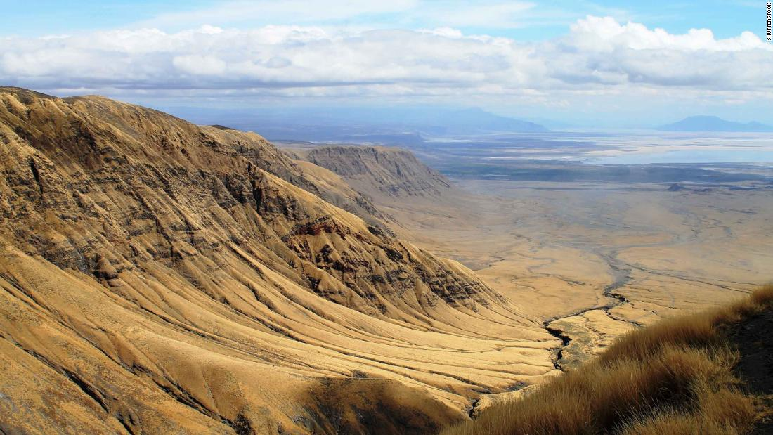 The Great Rift Valley is home to spectacular landscapes.