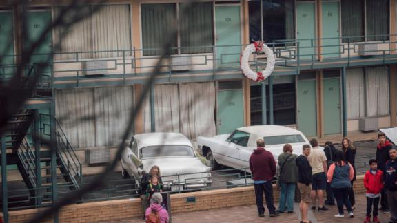 MEMPHIS, TN - March 25, 2018: A view of the National Civil Rights Museum at the Lorraine Motel in Memphis.