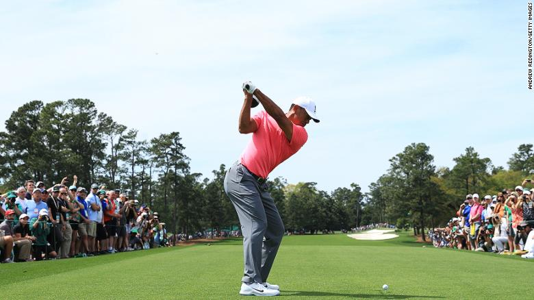 Tiger Woods Makes Much Hyped Masters Return Cnn