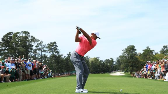 Woods was making his first playing appearance at Masters week for 1,086 days. He ha undergone four back surgeries since March 2014.