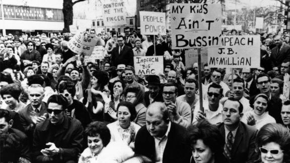 Thousands of whites protested court-ordered busing in North Carolina. How would King have dealt with such resistance to integration?