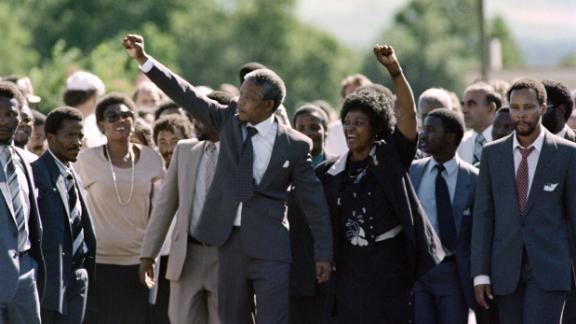 King spoke out against apartheid; one person says he would have formed a formidable partnership with Nelson Mandela upon his release in 1990.