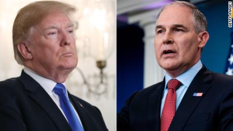 "Trump to embattled EPA chief: ""We got your back"""
