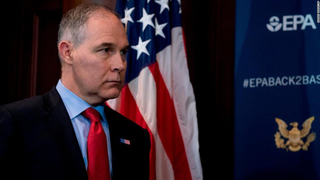 EPA chief Scott Pruitt resigns amid scandals, citing 'unrelenting attacks' – Trending Stuff