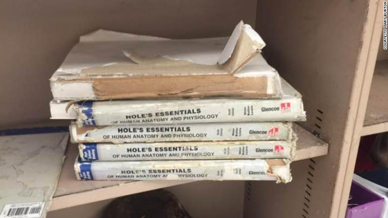 These crumbling textbooks show why Oklahoma teachers are walking out ...