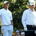 Tiger Woods Phil Mickelson Masters Augusta
