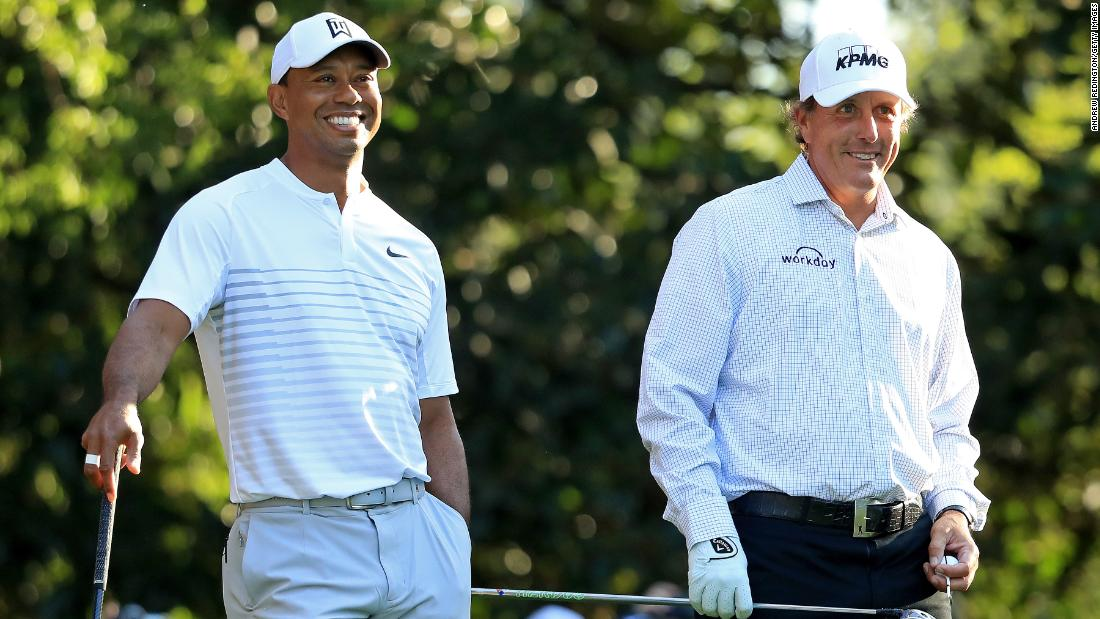 Woods and Mickelson were arch rivals earlier in their careers but age, life experiences and time spent on Ryder Cup and Presidents Cup teams have brought them closer together.
