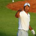 Tiger Woods Masters Augusta practice round
